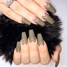 New and Exciting Ideas For Totally Cool Coffin Nails ★ See more: https://naildesignsjournal.com/coffin-nails-exciting-ideas/ #nails
