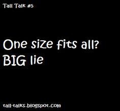 Totally! Bc I'm skinny and tall. Most other girls are short and fat!