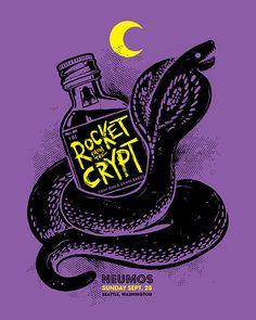 Rocket From The Crypt by Matt Harvey