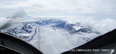 Ruth's Glacier near Denali {Mt. McKinley}- amazing!  #Alaska-Travel-Journal_Flight-Seeing-Denali-2
