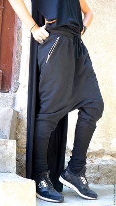 Купить Брюки Zipper - черный, брюки, спортивные брюки, спортивный стиль, спортивная одежда