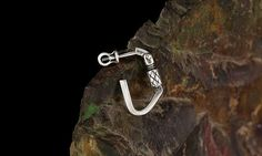 Earring Сlimbing carabiner от ExJe на Etsy Earring for men and girl in love with the rockclimbing. Price is for 1 pcs.