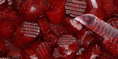 Rote Bete ist äusserst gesund und enthält starke medizinische Eigenschaften. Die Anthocyanine geben ihnen die rote Farbe und haben starke Anti-Krebs-Eigenschaften. Darüber