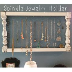 If you've read my blog for awhile, you might remember when I made a photo holder from two short spindles and some chicken wire. You can see...