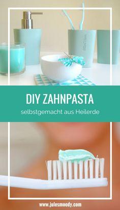 Eine Zahnpasta aus Heilerde? Ganz einfach selbst gemacht und effektiv! Wahlweise mit oder ohne ätherischer Öle und Hydrolaten!