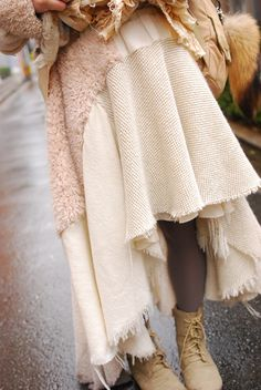 森ガール (mori girl style) - fall / winter style inspiration