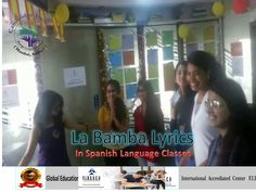 Spanish is the most widely spoken language in the world. With growing business realtions between India and Latin America, thus opens more reasons for lea. Spanish Language Classes, Growing Business, Lyrics, La Bamba, Song Lyrics, Verses, Music Lyrics, Suspended Animation