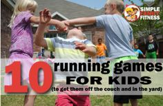 top 10 running games for kids. coaching cross country?