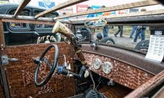 Top 50 Best Rat Rod Interior Ideas - Retro Automotive Designs
