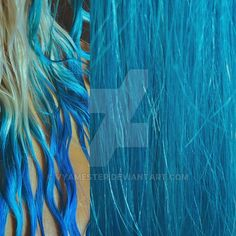 My teal / turquoise ombre hair wet and dry by Vyamester on DeviantArt Turquoise Hair Ombre, Ombre Hair, Teal, Wet And Dry, Deviantart, Lifestyle, Painting, Instagram, Painting Art