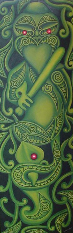 Maori art, New Zealand