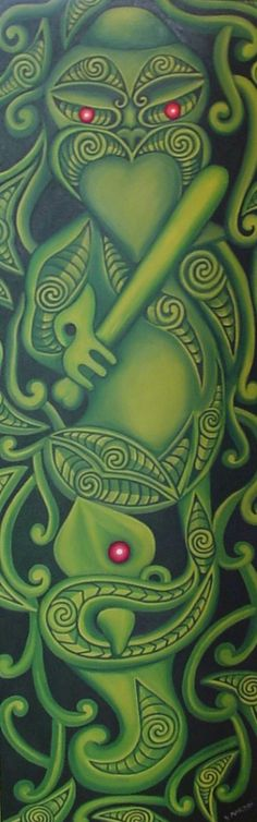 Maori art, New Zealand