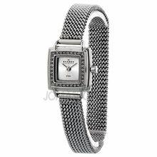 Skagen Silver Dial Swarovski Crystal Bezel Ladies Watch 821XSSS1 63.52 18mm Skagen Watches, Stainless Steel Mesh, Casual Watches, Swarovski Crystals, Quartz, Lady, Silver, Accessories, Money