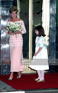 News Photo : London,England July 19,1993 Princess Diana at...
