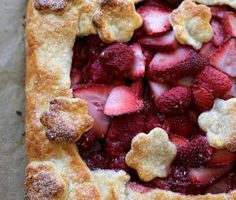 Joy the Baker. Strawberry Raspberry Crostata.