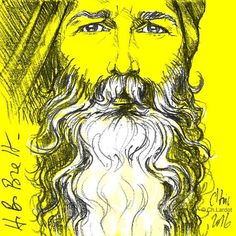 Post-it Portrait by Christophe LARDOT                      Happy Birthday Brett ;-)  #sketch #pencilsketch #pencilart #instaart #art #arte #artwork #postitart #postitportrait #postitportraitbychistophelardot #portrait #portrait #portraitoftheday #illustration #illustrator #illustrationoftheday #beard #bearded #beardgang #beardman #whitebeard #yellow #man #fashion #fashionillustration #gingerbeard #whitehair #white #beardmovement