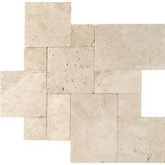 Ivory Tumbled Travertine Patterns Versailles Pattern - Country Floors of America LLC. Floor Patterns, Tile Patterns, Travertine Pavers, Travertine Bathroom, Limestone Tile, Paving Slabs, Versailles Pattern, Outdoor Kitchen Countertops, Countertop Backsplash