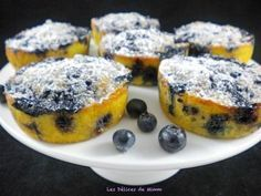 Fluffy almonds and blueberries 2 – The most beautiful recipes Small Desserts, Köstliche Desserts, Chocolate Desserts, Delicious Desserts, Brunch Recipes, Sweet Recipes, Keto Recipes, Cake Recipes, Dessert Recipes