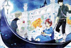 Zen & Shirayuki & Obi | Akagami no Shirayukihime #manga