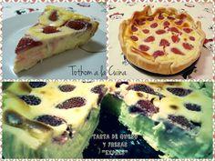 Tarta de queso y fresas exprés | Cocinar en casa es facilisimo.com