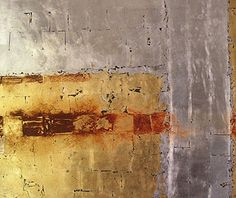 France's Swigart | oil and gold, silver, copper leaf on wood A Level Art, Panel Art, Gold Art, Art Themes, Pictures To Paint, Art Techniques, Beautiful Artwork, Abstract Art, Abstract Paintings