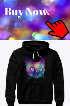 Galaxy Cat, Hoodies, Sweatshirts, Cats, T Shirt, Stuff To Buy, Clothes, Supreme T Shirt, Outfits