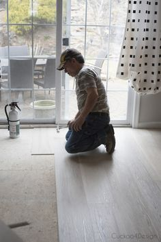 I'm sharing all my reasons for choosing light-colored Karndean vinyl wood plank flooring for the entire main floor of our house. Vinyl Wood Planks, Vinyl Wood Flooring, Wood Vinyl, Hardwood Floors, Karndean Design Flooring, How To Waterproof Wood, Light Colored Wood, Luxury Vinyl Plank, Wide Plank