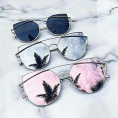 2320b8b3b2 Cheap Designer Cateye Mirrored Lenses Oversized Sunglasses Reflective  Mirror - 2018 Classic Summer Trend Trending www.GlamantiBeauty.com