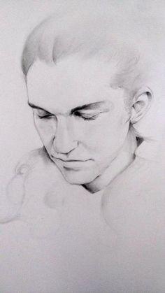 A Miles McMillan's portrait.