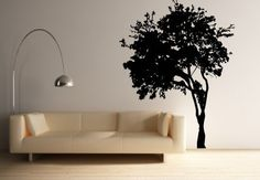Wall Art Vinyl Decal Sticker Home Natural Tree by artwallproject, $108.00