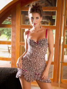 A lingerie da noiva - Camisola curta Burlesque