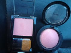 Exact dupe! MAC blush in Dainty= Maybelline FitMe blush in Medium Pink! $25 vs $5