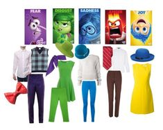 Wear Your Emotions - Inside Out Everyday Cosplay -