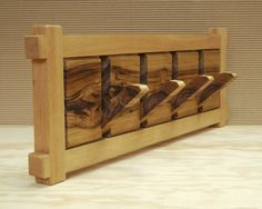 Folding wooden clothes rack 1.6 by HechoEnCasaTaller on Etsy