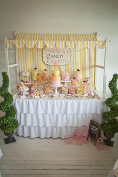 Vintage Candy Sweet Shoppe Girl 6th Birthday Party Planning Ideas