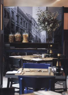 Restaurant Quijote, en Santiago, Arquitectos Andres Orezzoli, Miguel Dulanto, diseñador Cristian Pizarro