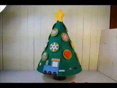 Albero di Natale montessoriano - YouTube