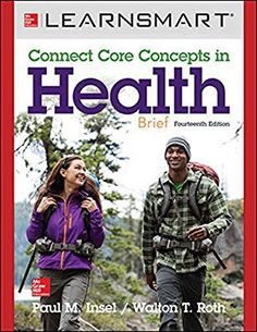 LearnSmart for Connect Core Concepts in Health