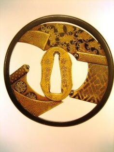 IMAGES OF JAPANESE WEAPONS   100 Tsuba and japanese swords accessories