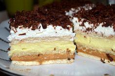 zákusky - Page 5 of 85 - Mňamky-Recepty. No Bake Cookies, No Bake Cake, Food Cakes, Sweet Desserts, Tiramisu, Cake Recipes, Sweet Tooth, Food And Drink, Cheesecake