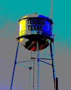Texas watertower -myphoto