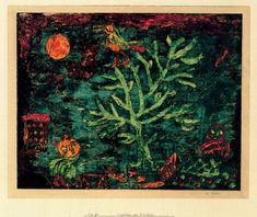 """""""Tale of the North"""" by Paul Klee (1879-1940, Switzerland)"""