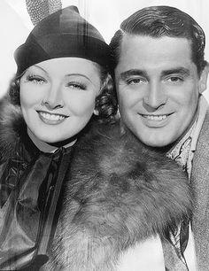 Myrna Loy & Cary Grant