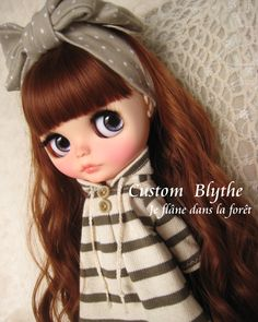 *カスタムブライス*Custom Blythe*Je flne dans la fort_画像1