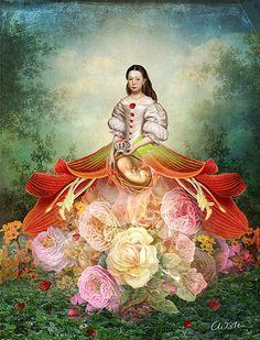The Empress - Tarot Deck in the making: Catrin Welz-Stein