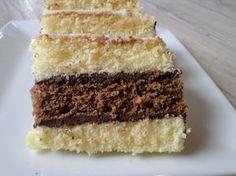 Gateau napolitain au thermomix : une super recette qui fera un grand succès autour de la table : génoise moelleuse et ganache au chocolat : comme un vrai!
