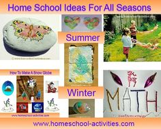 Home school ideas for all seasons.