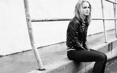 Black&white Natalie Portman.