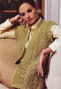 Fabulous Crochet a Little Black Crochet Dress Ideas. Georgeous Crochet a Little Black Crochet Dress Ideas. Crochet Bodycon Dresses, Black Crochet Dress, Knitted Cape, Hand Knitted Sweaters, Gillet, Knit Cardigan Pattern, Wool Vest, Sweater Design, Knitting Designs
