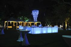 Add some #glow ! Ronen Rental // Event Decor // Event Furniture Rental